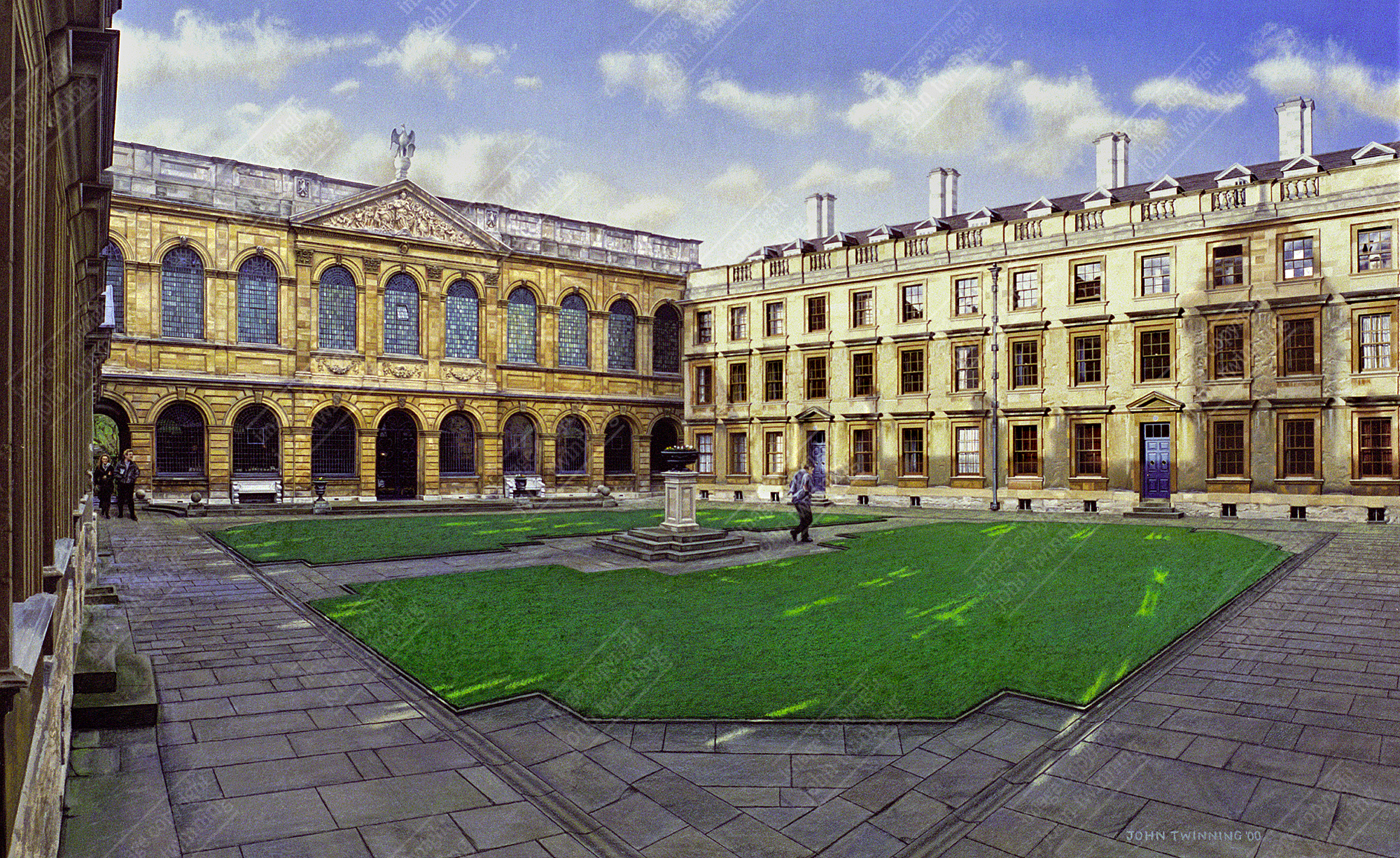 40% off! The Queen's College, Oxford: Back Quad