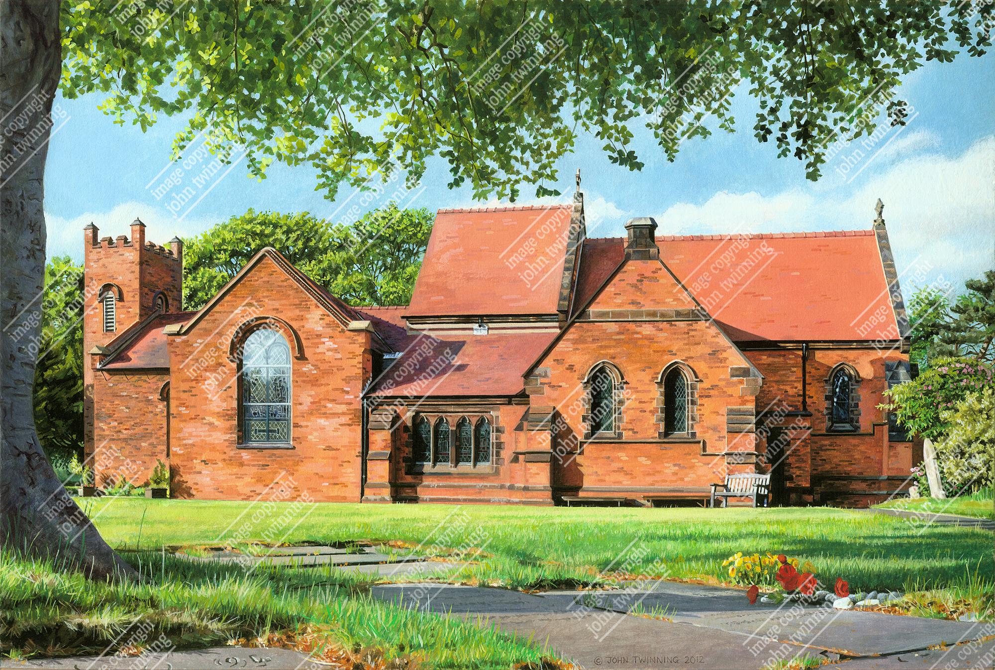 Christ Church, Gentleshaw