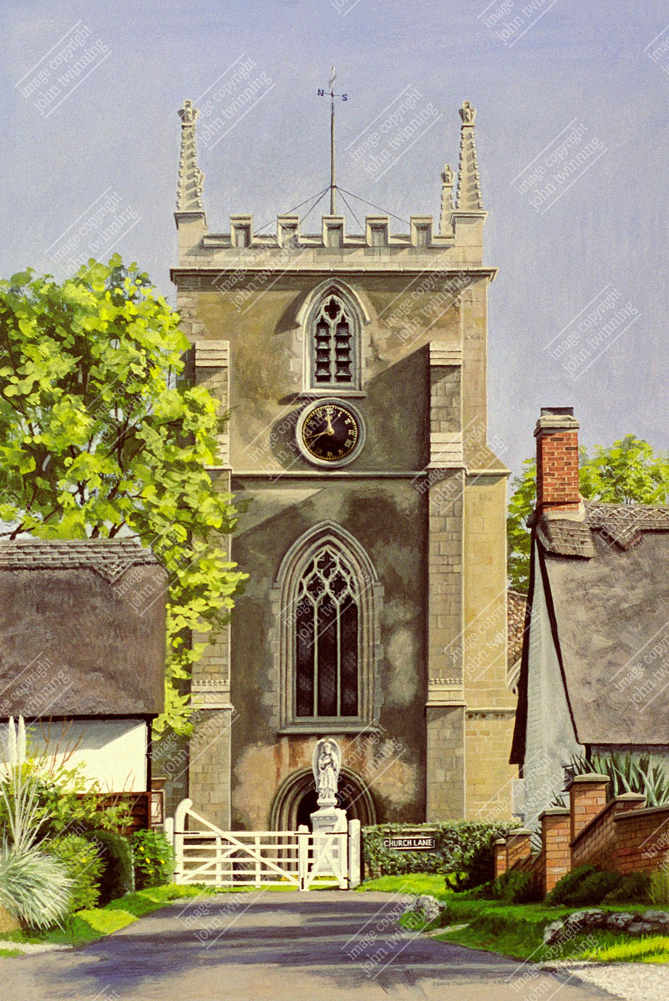 Elsworth parish church, Cambridgeshire