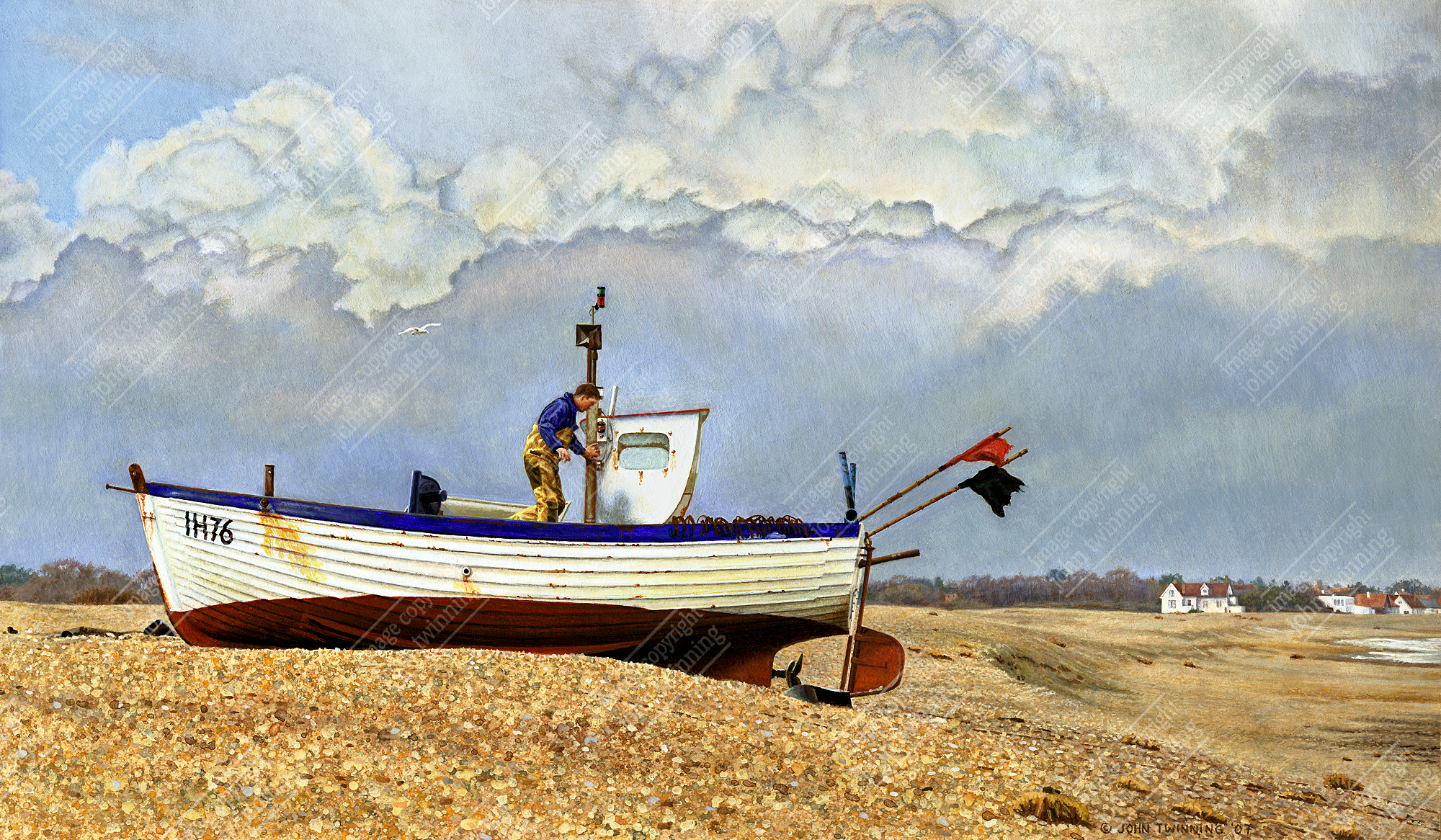 Low tide, Aldeburgh, Suffolk