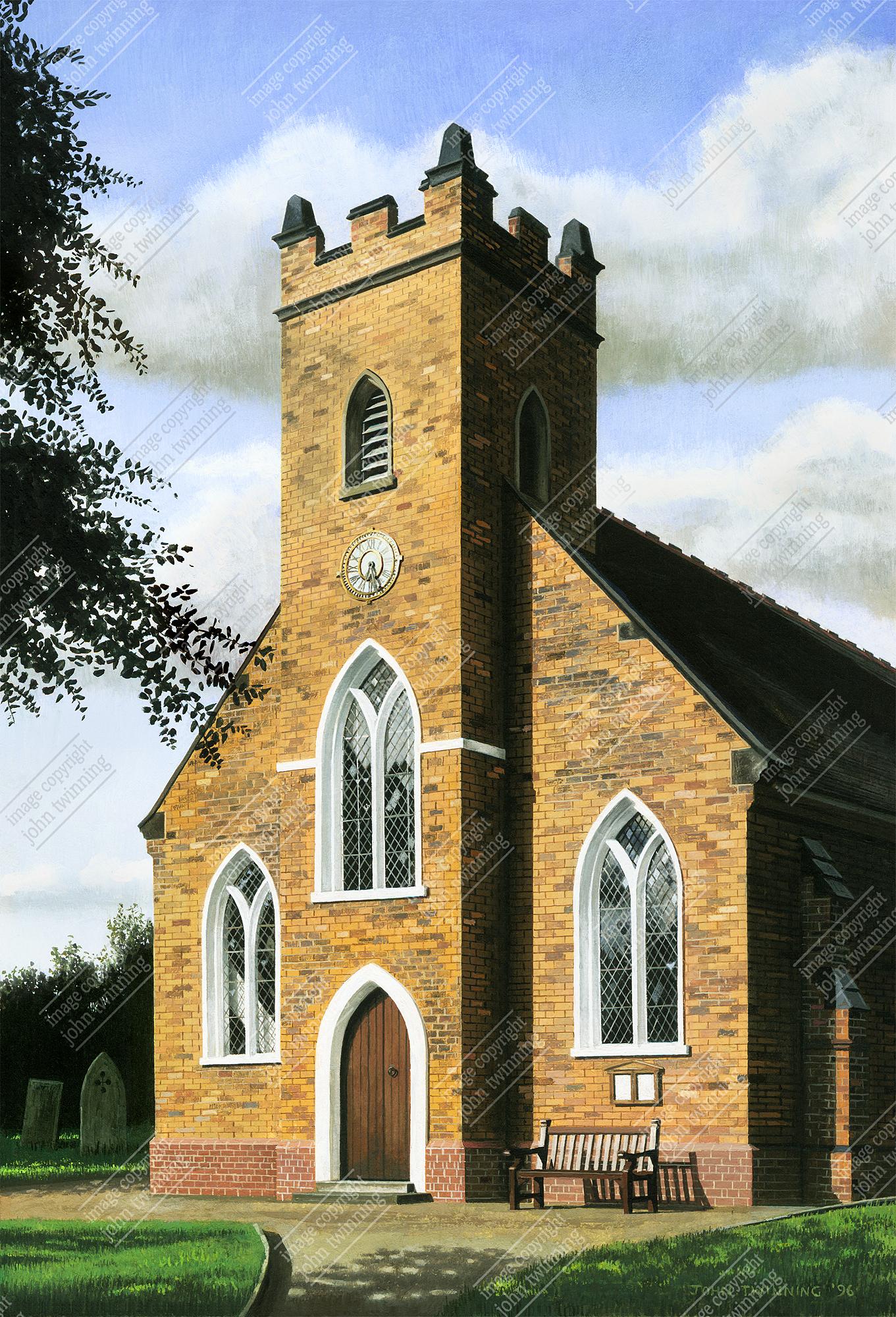 St. Peter's parish church, Stonnall