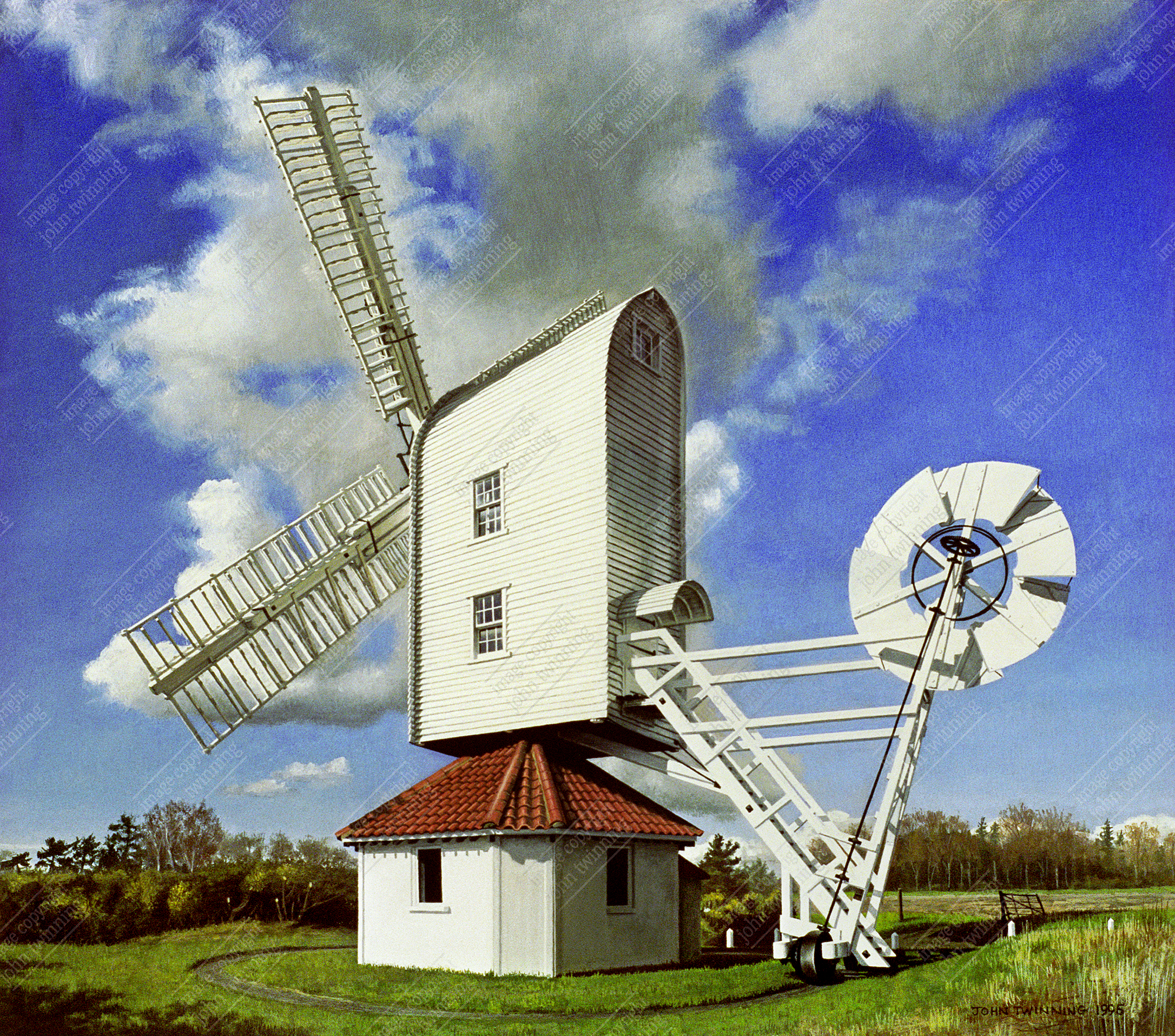 Windmill at Thorpeness, Suffolk