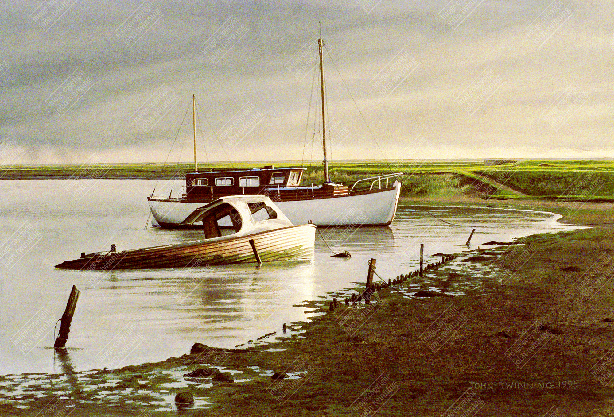 Boats at Orford, Suffolk